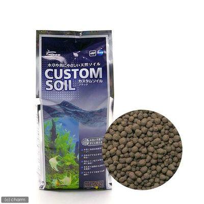 マルカン カスタムソイル ブラック 1kg 熱帯魚 用品 44408