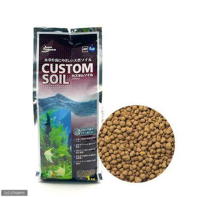 マルカン カスタムソイル ブラウン 1kg 熱帯魚 用品 44405