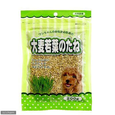 大麦若葉のたね 200g 犬 ペットグラス 81097 1セット(3個入)