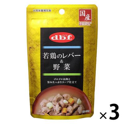 デビフペット 若鶏のレバー&野菜 100g 290539 1セット(3個入)