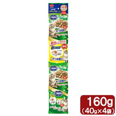 日本ペットフード コンボ連パック 海の味わいメニュー かつおぶし添え 160g 68897 1セット(3個入)