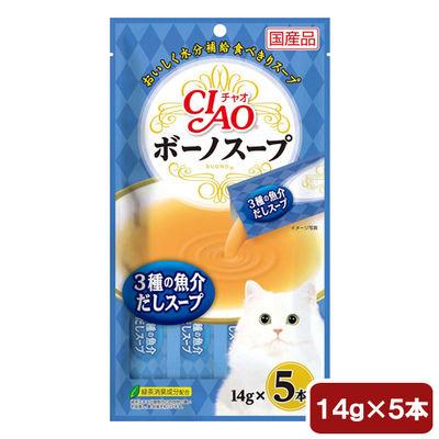 ボーノスープ 猫用 3種の魚介だしスープ 17g×5本 184058 1セット(6個入)