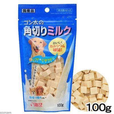 マルカン ゴン太の角切りミルク 100g 犬 おやつ 89820 1セット(3個入)