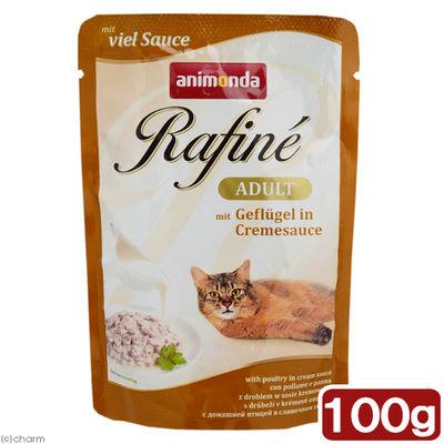 アニモンダ 猫用 ラフィーネ チャンクwithソース アダルト 鳥肉・クリームソース 333654 1セット(3個入)