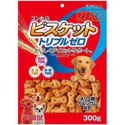 マルカン ゴン太のビスケット トリプルゼロ 300g 犬 おやつ 89821 1セット(3個入)
