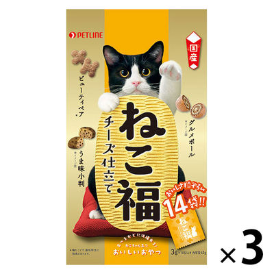 ねこ福 猫用 チーズ仕立て 3袋