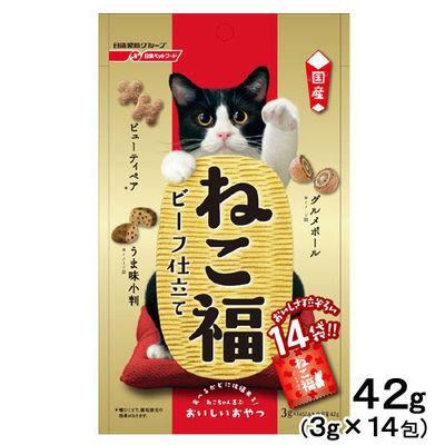 ねこ福 猫用 ビーフ仕立て 3g×14包