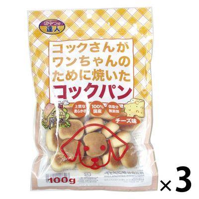 コックパンチーズ 100g 犬 おやつ 158023 1セット(3個入)