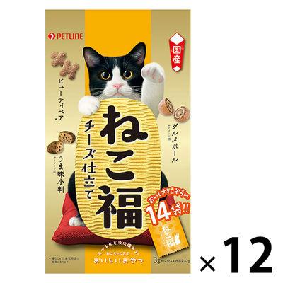ねこ福 チーズ仕立て3g×14包 12個