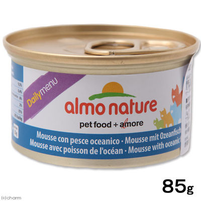 アルモネイチャー デイリーメニュー 海魚入りお肉のムース 85g キャットフード 245163 1セット(12個入)