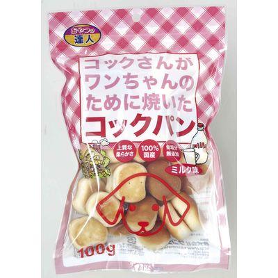 コックパンミルク 100g 犬 おやつ 158021 1セット(12個入)