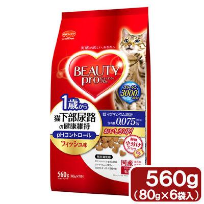 日本ペットフード 猫下部尿路の健康維持 1歳から10歳まで 560g 高齢猫用 73844 1セット(12個入)