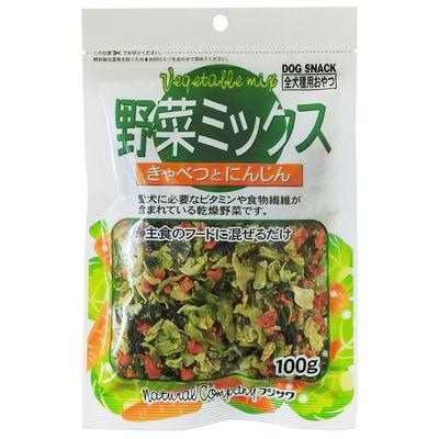 フジサワ 野菜ミックス キャベツとにんじん 100g 犬 おやつ 88110 1セット(2個入)
