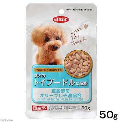 デビフペット 愛犬のトイプードルに配慮 50g ドッグフード 国産 199637 1セット(4個入)