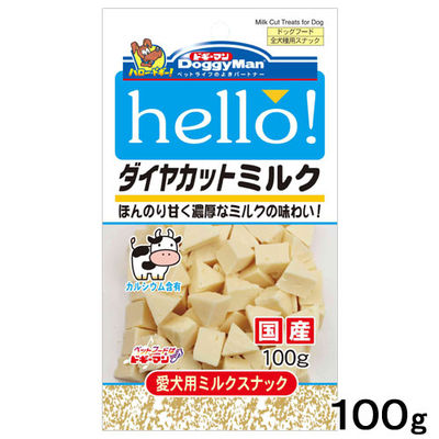 hello!ダイヤカットミルク 国産 100g 248255 1セット(3個入)