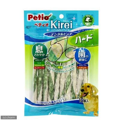 チャーム Kirei デンタルピュア ハード 10本入 犬 おやつ 81724 1セット(3個入)
