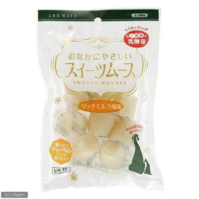 スイーツムース リッチミルク風味 8個入 犬 おやつ 154130 1セット(3個入)