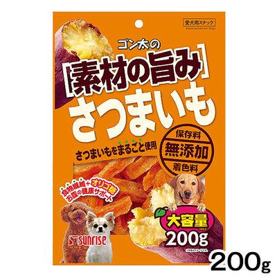 マルカン 犬用 ゴン太の素材の旨み さつまいも 200g 331899 1セット(3個入)