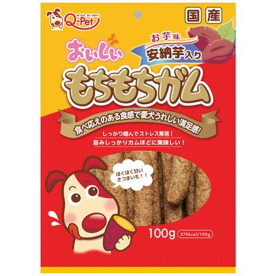 おいしい もちもちガム お芋 100g 犬 おやつ 159989 1セット(3個入)