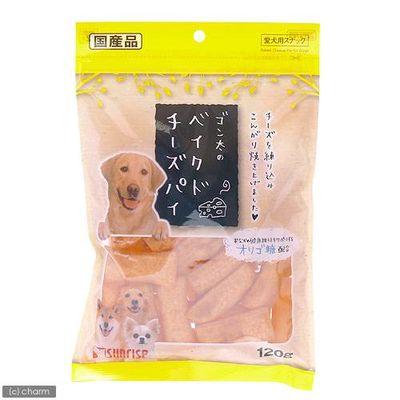 マルカン ゴン太のベイクドチーズパイ 120g 犬 おやつ 159165 1セット(3個入)