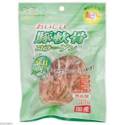 ペッツルート おいしい豚軟骨コラーゲン ハード 35g 犬 おやつ 175269 1セット(3個入)