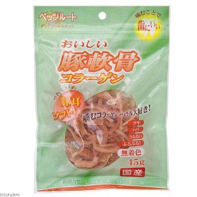 ペッツルート おいしい豚軟骨コラーゲン ソフト 45g 犬 おやつ 175270 1セット(3個入)