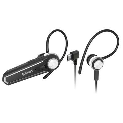 カシムラ Bluetoothイヤホンマイク ステレオ ブラック BL-75 1個  (直送品)