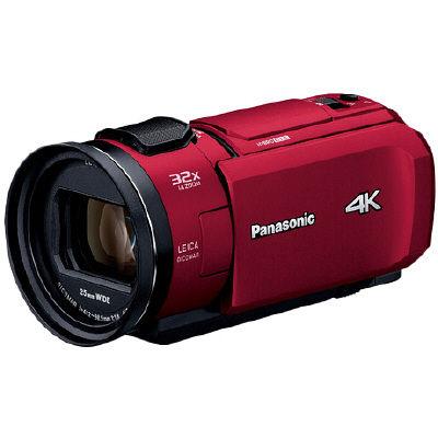 パナソニック デジタル4Kビデオカメラ (レッド) HC-VZX1M-R 1台  (直送品)
