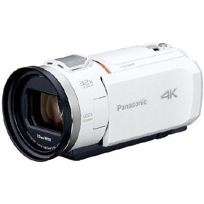 パナソニック デジタル4Kビデオカメラ (ホワイト) HC-VZX1M-W 1台  (直送品)
