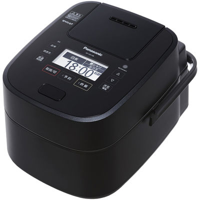 パナソニック スチーム&可変圧力IHジャー炊飯器 1.0L (ブラック) SR-VSX108-K 1台  (直送品)