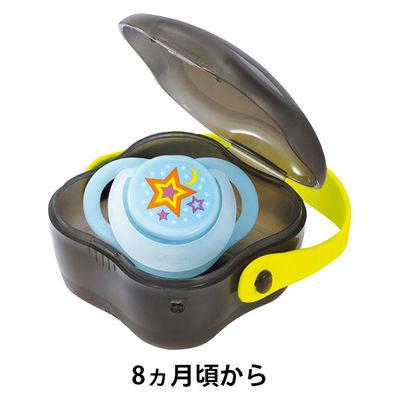 コンビ入眠ナビLプチケース付ブルー