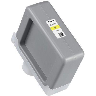 キヤノン インクタンク PFIー110 Y 2367C001 1個  (直送品)