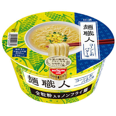 日清麺職人 コーンしおバター味 12個