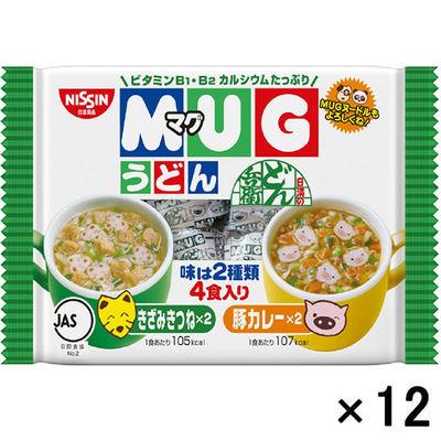 日清マグうどん4食入 12個