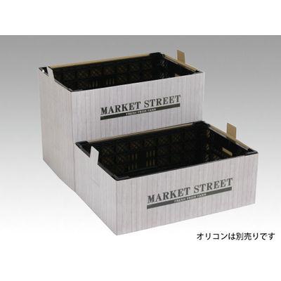 パックスタイル PS コンテナスリーブ 白木目MS 00557607 1包:50枚(1×50) (直送品)