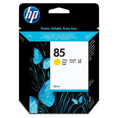 HP C9422A HP85 プリントヘッド イエロー 1本 (直送品)
