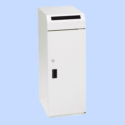 ぶんぶく 機密書類回収ボックス大ホワイト・中箱付 KIM-S-9 (直送品)
