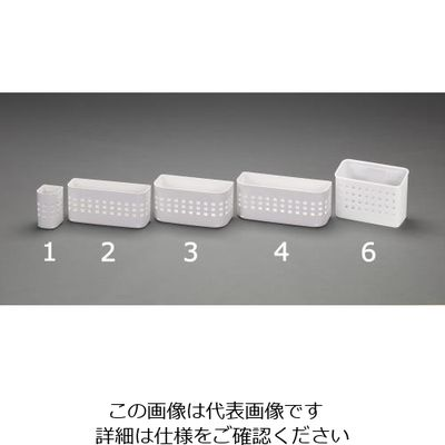 75d22455360f アスクル】エスコ(esco) 246x117x116mm小物ボックス(マグネット付) 1 ...