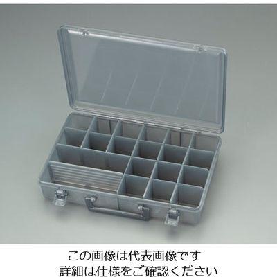 bf743a978f01 アスクル】エスコ(esco) 333x228x72mmパーツケース(灰) 1セット(4個 ...