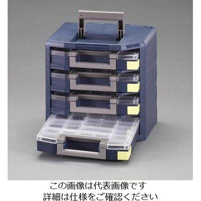 fb580b7a1d9c エスコ(esco) 347x305x342mmハンディーボックス(パーツケース4個) 1個 EA661AC