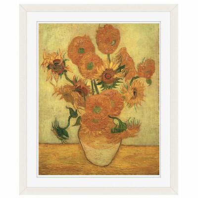 アートプリントジャパン 「Sunflowers 1889」 フレーム/S/ホワイト 1枚