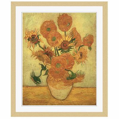 アートプリントジャパン 「Sunflowers 1889」 フレーム/S/木目 1枚