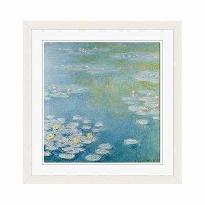 アートプリントジャパン 「Nympheas at Giverny by Monet Claude」 フレーム/S/ホワイト 1枚