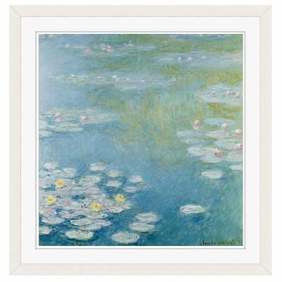 アートプリントジャパン 「Nympheas at Giverny by Monet Claude」 フレーム/M/ホワイト 1枚