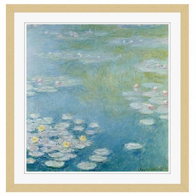 アートプリントジャパン 「Nympheas at Giverny by Monet Claude」 フレーム/M/木目 1枚