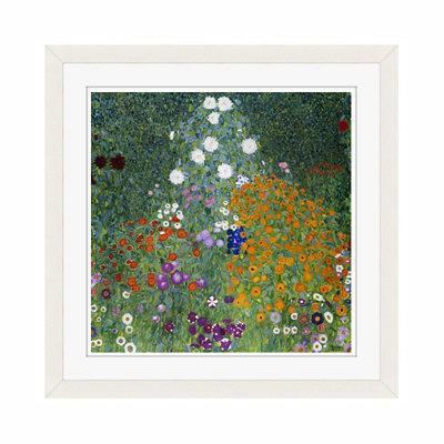 アートプリントジャパン 「Farmers Garden by Gustav Klimt」 フレーム/S/ホワイト 1枚