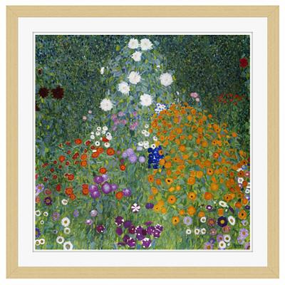 アートプリントジャパン 「Farmers Garden by Gustav Klimt」 フレーム/M/木目 1枚
