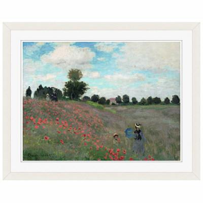 アートプリントジャパン 「Wild by Claude Monet」 フレーム/S/ホワイト 1枚