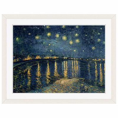 アートプリントジャパン 「The Starry Night 1888」 フレーム/S/ホワイト 1枚