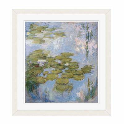 アートプリントジャパン 「Nympheas by Claude Monet」 フレーム/S/ホワイト 1枚